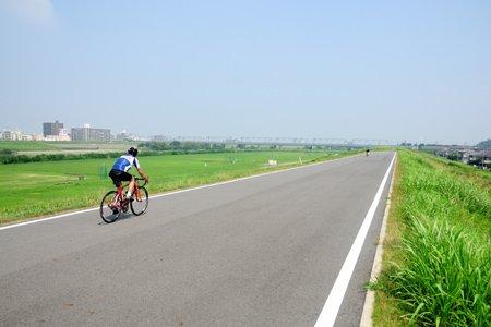 松戸野田関宿自転車道(南流山付近)